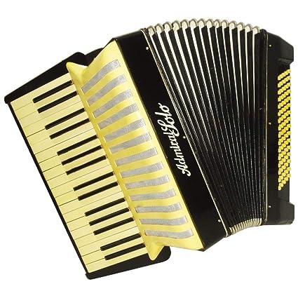 Amazon.com: Admiral Solo, 80 Bass, ligero acordeón alemán ...