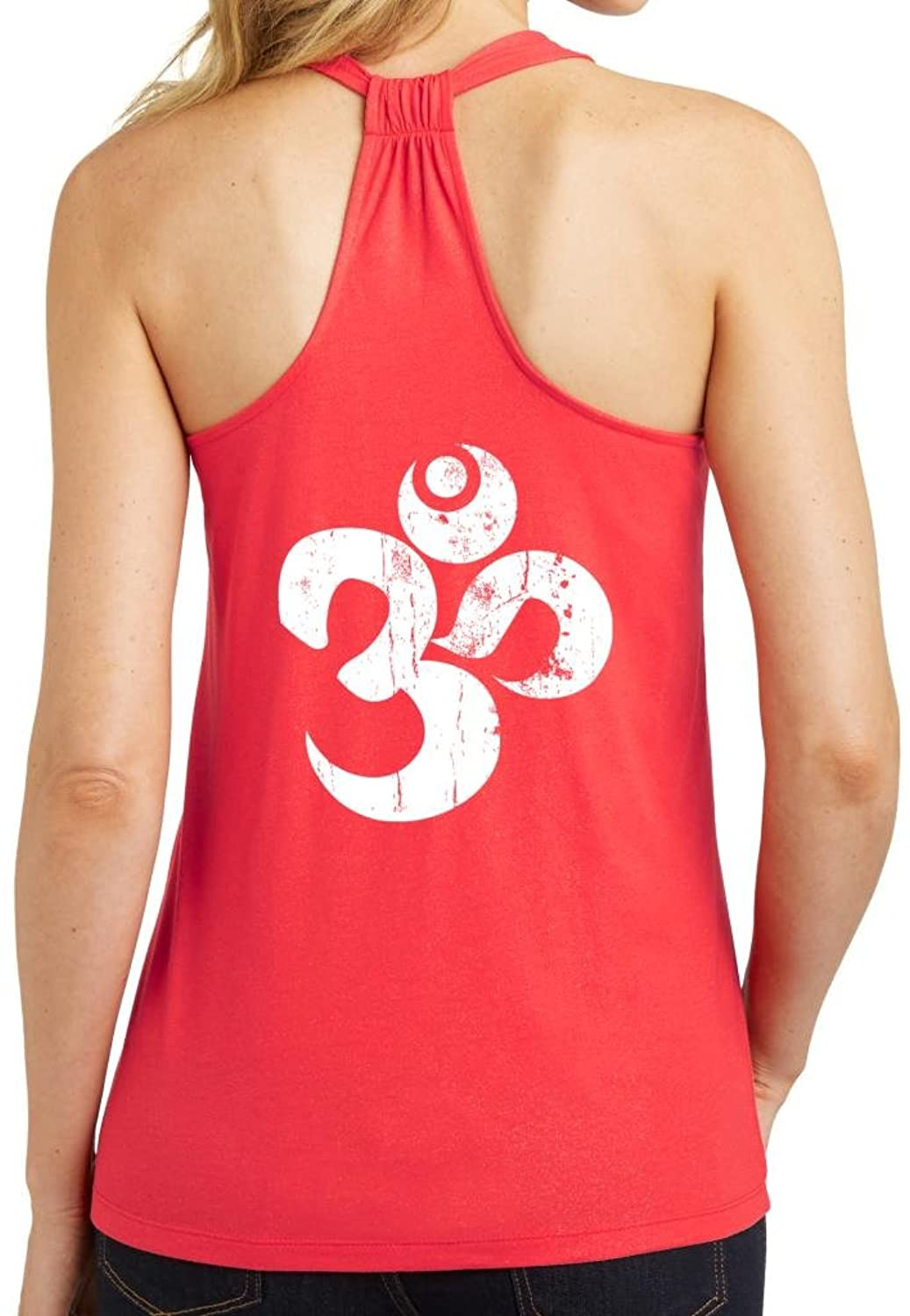 Yoga Clothing For You Ladies Distressed OM Tank Top