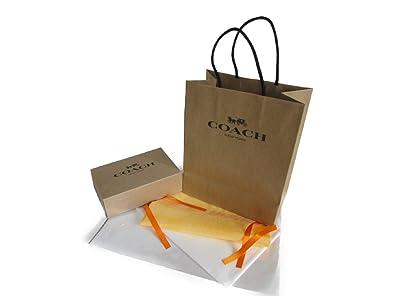4674f6b11b69 Amazon | [コーチ] プレゼントキット 茶袋 小 小箱付き(財布・小物用 ...