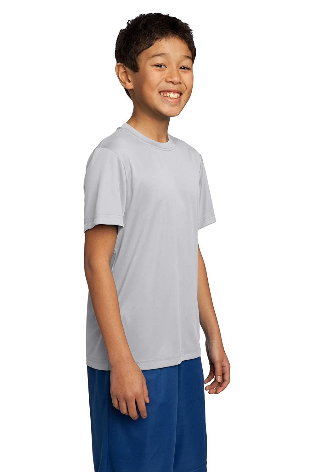 Sport-Tek Youth Comfort Lightweight Competitor T-Shirt/_White/_Large