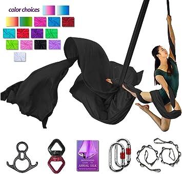 Amazon.com: Aerial Silks Deluxe - Juego de accesorios para ...