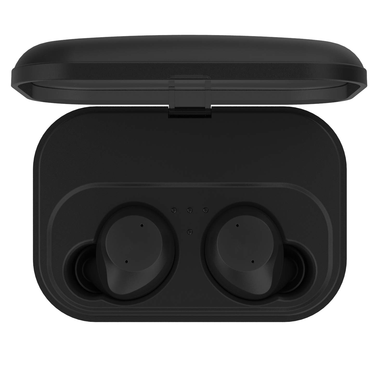 True Wireless Earbuds Bluetooth 5.0 Headphones,TWS Stereo Sound Earphones with 2200mah Charging Case Box Bulid-in Mic IPX7 Waterproof in-Ear Earbuds for iPhone Android Phone