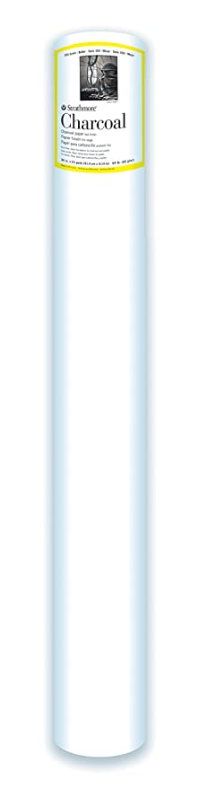 Strathmore 340-42 300 Series Drawing Roll, Medium Surface, 42 x10 Yards