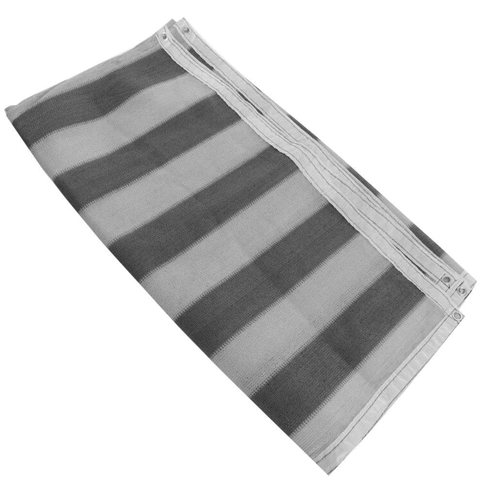 XIAOYAN Panno Ombra 90% Sunblock Shade Net Grigio Resistente ai Raggi UV, Premium Garden Shade Mesh Tarp per Fiori, Piante, Patio Garden Dimensioni Personalizzate Disponibili (Dimensioni   2×6M)