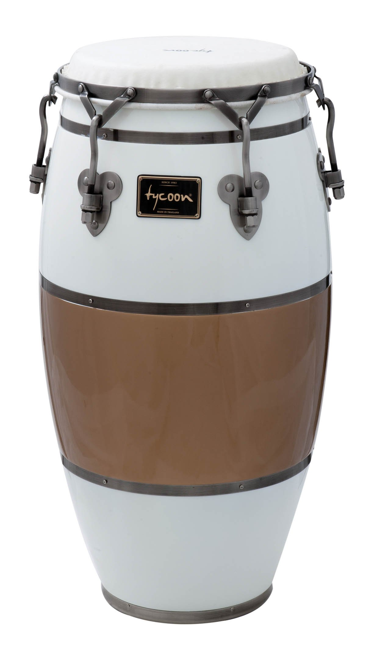 Tycoon Percussion TSCHBC130CCL Signature Heritage Cafe Con Leche Series Tumba 12 1/2 Conga