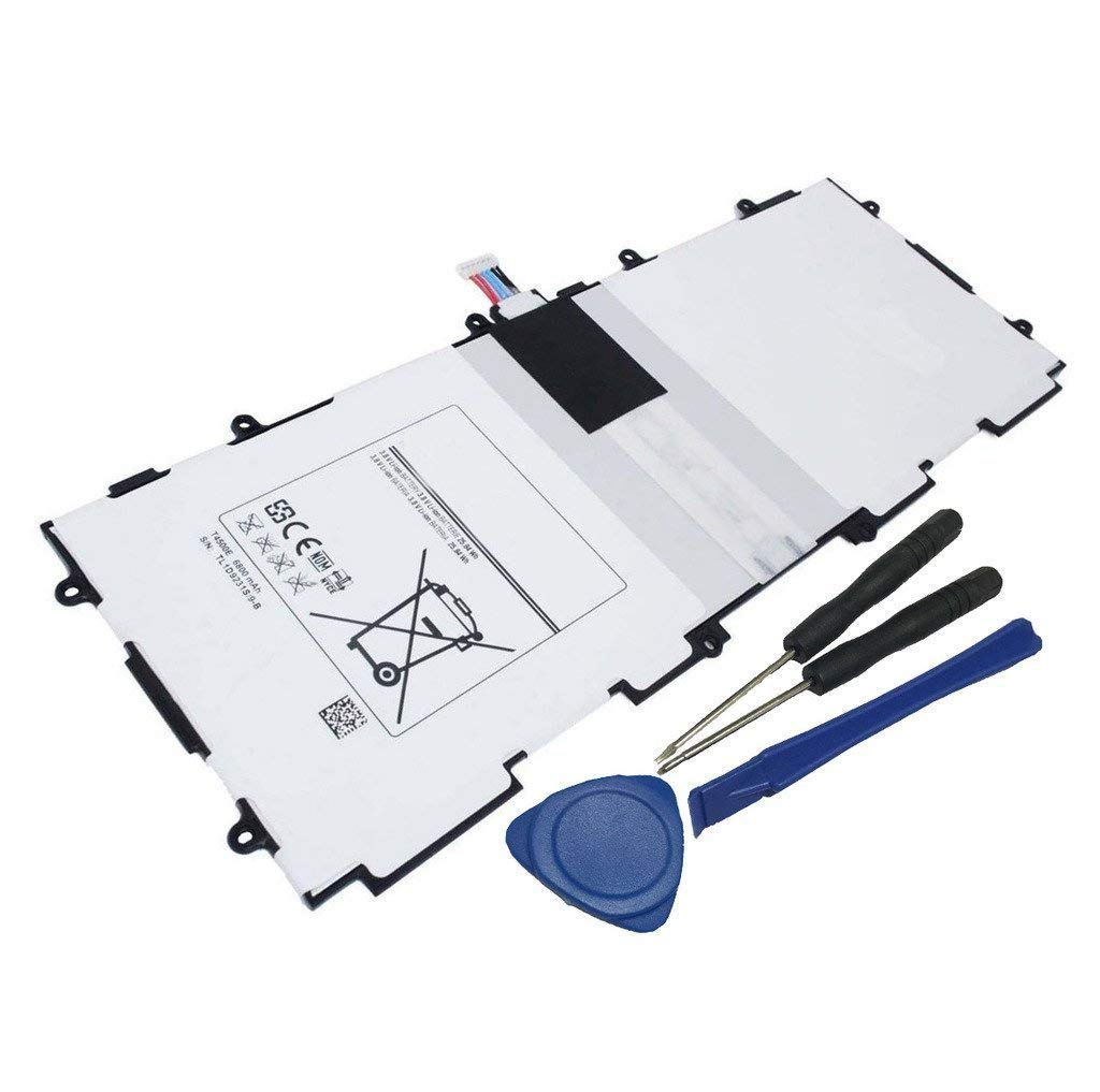 Fully Replacement T4500E Laptop Battery for Samsung Galaxy Tab 3 10.1 GT-P5210 Gt-P5200 Gt-P5220 Gt-P5213-3.8V 6800mAh with Tools