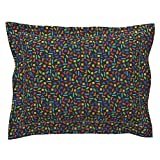 Roostery Tetris Gaming Geek Pillow Sham by