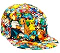 POKEMON All-Over Character Print Snapback Baseball CAP/ HAT