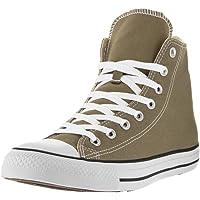 Converse Mens Unisex Chuck Taylor All Star Hi Top Fashion Sneaker Shoe, Jute, 10.5