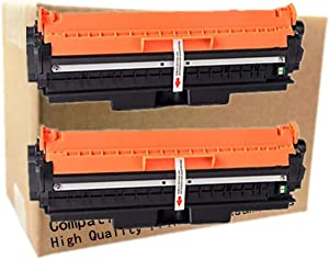 No-name Compatible 2 Pack Replacement Drum CE314A 314A Imaging Drum Unit for HP Color Laserjet Pro CP1025 1025 CP1025nw M175a M175nw M275MFP Without Toner Cartridge Laser Printer