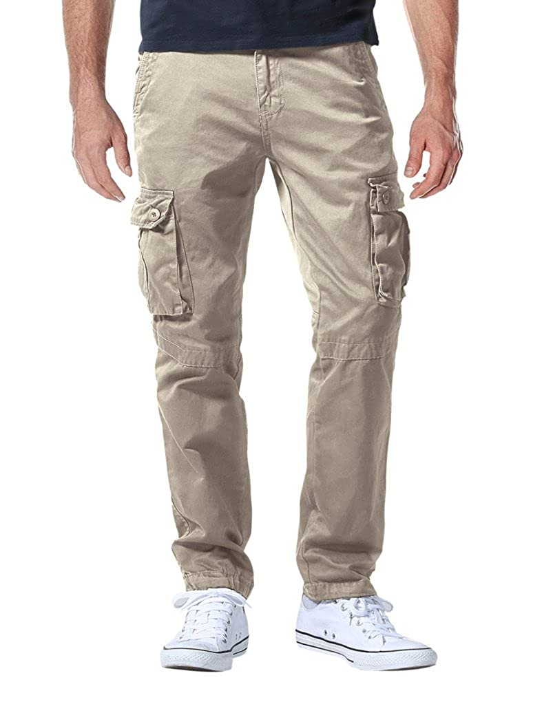 ee2a9ddfadac9c Match Men's Athletic-Fit Cargo Pants at Amazon Men's Clothing store: