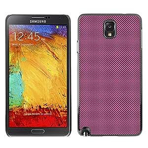 GIFT CHOICE / SmartPhone Carcasa Teléfono móvil Funda de protección Duro Caso Case para Samsung Note 3 N9000 /PURPLE DOTS PATTERN/