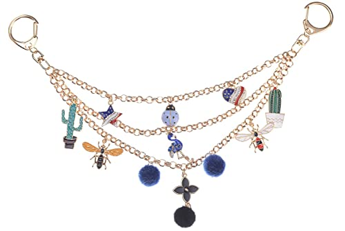 38073caee Image Unavailable. Image not available for. Color: Giftale Women's Purse  Charm Keychain ...
