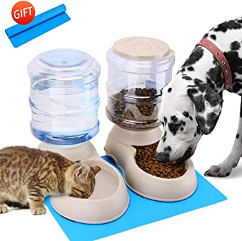 5.Automatic Cat Feeder and Water Dispenser