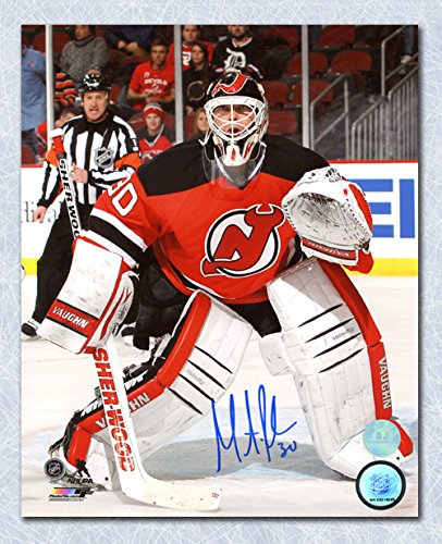 fc7454e501b Martin Brodeur New Jersey Devils Autographed Game Action 8x10 Photo ...