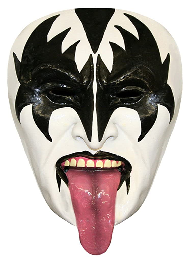 Demon Latex Half-mask