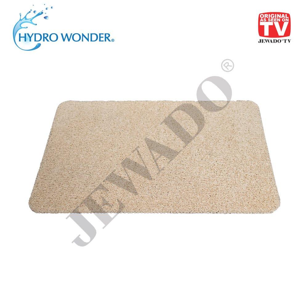 Hydro Wonder® - Alfombrilla antideslizante de lujo para bañera y ducha, 40 x 60 cm, en color beige o gris, producto original anunciado en la ...