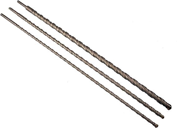 Meißel 15-tlg Satz Bohrer Set  Silverline NEU SDS-Plus-Steinbohrer und