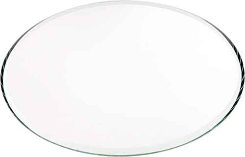 Plymor Round 3mm Beveled Glass Mirror, 5 inch x 5 inch Pack of 144