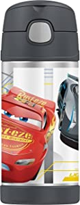 Thermos Funtainers 12-Ounce Disney PIXAR Cars Beverage Bottle