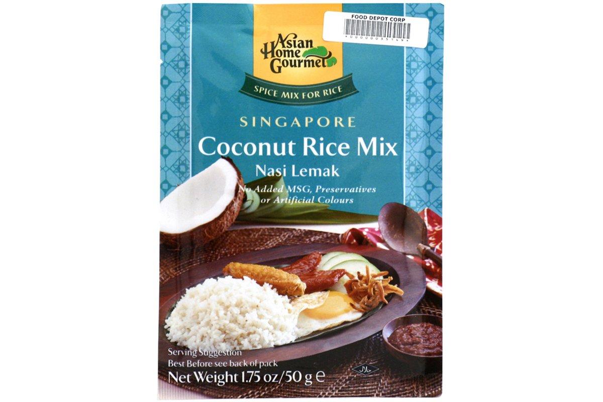 Amazon.com : Singapore Coconut Rice (Nasi Lemak) - 1.75oz (Pack of 1 ...