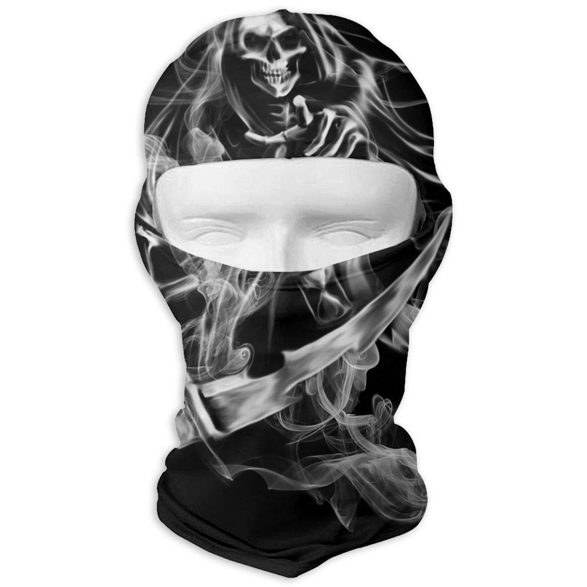 LaoJi Demon Winter Ski Mask Balaclava Hood - Wind-Resistant Face Mask