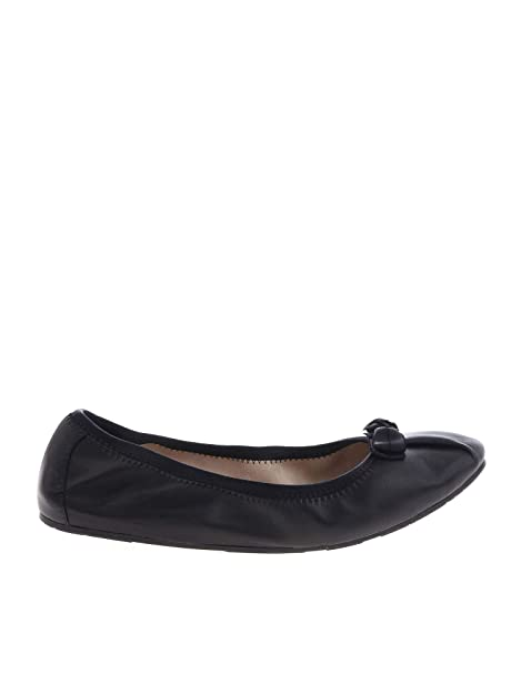 1e5bb77fb7 SALVATORE FERRAGAMO Ballerine Donna 709571 Pelle Nero: Amazon.it: Scarpe e  borse
