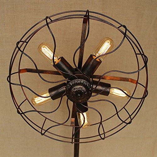 Retro Ventilator Lampe Stehleuchte Amerikanische ländliche Industrien wind minimalistischen Persönlichkeit Industrial Air fan light