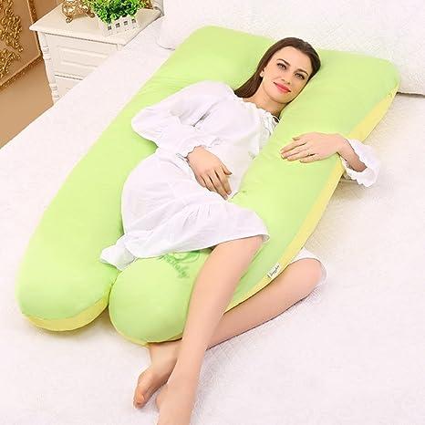 Cuerpo completo embarazo almohada - hipoalergénico en forma ...