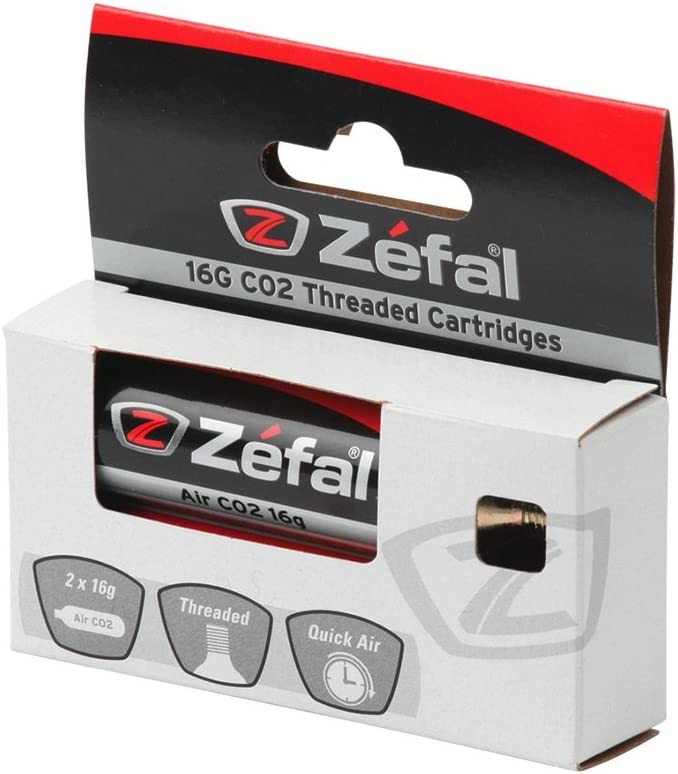 ZEFAL Co2 16g Blíster 2 Cartuchos, Deportes, Plata: Amazon.es ...
