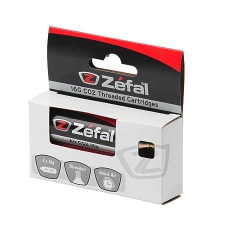 Amazon.com: Zefal con hilos cartucho de CO2, 16 g – por ...