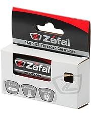 ZEFAL CO2 16G Blíster 2 Cos con Rosca, Unisex, Plata, 16 g