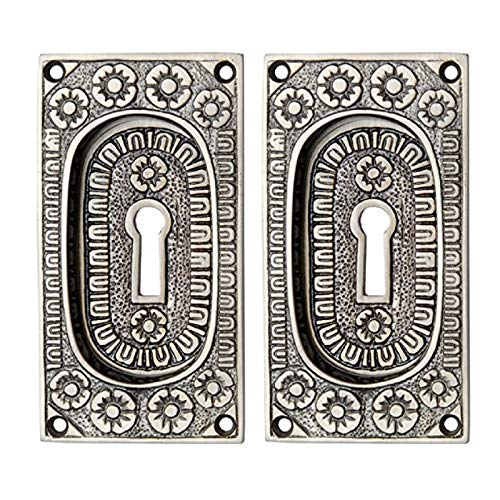 Adonai Hardware Kadmonites Brass Decorative Flush Pull - (Supplied as 2 Pieces per Pack)