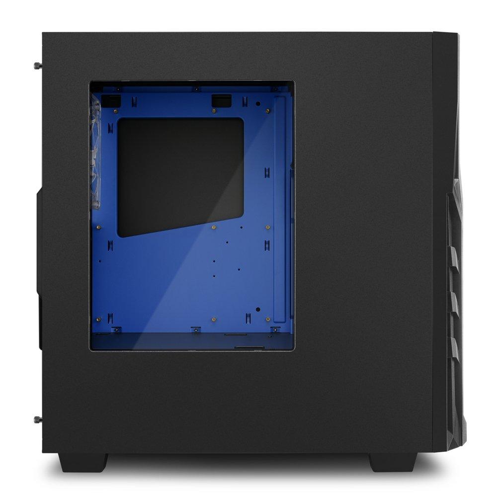 Sharkoon DG7000 PC-Gehäuse mit Window Kit blau: Amazon.de: Computer ...