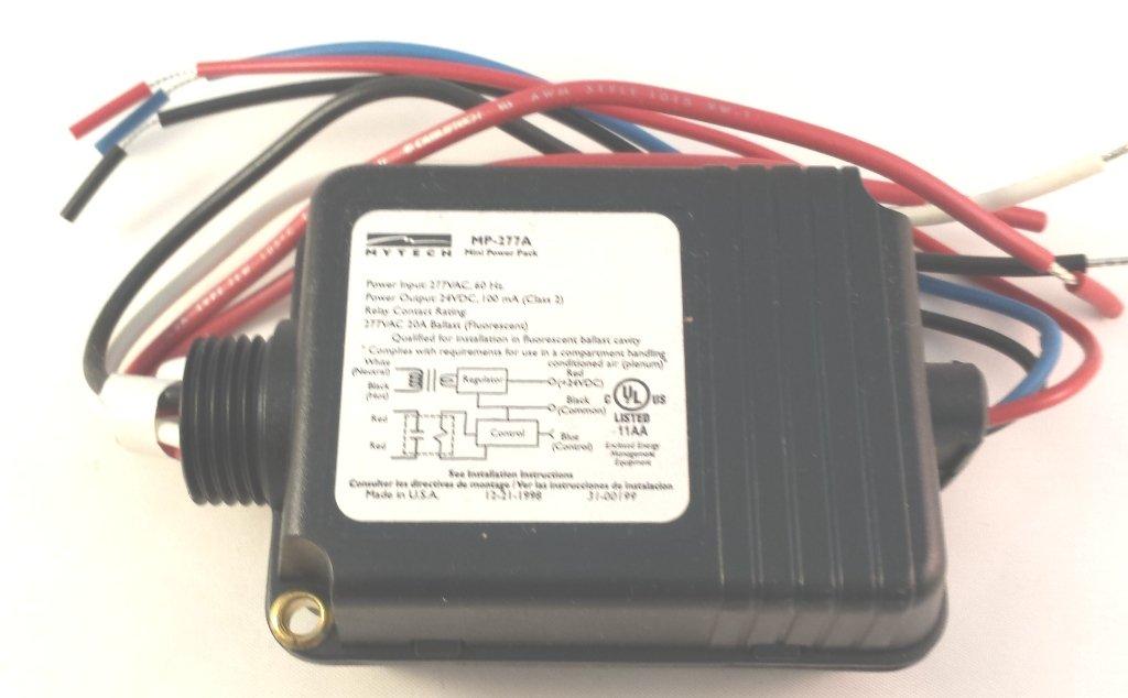 MYTECH HUBBELL MP-277A 24V OUTPUT 277V POWER PACK MOTION SENSOR