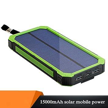 Portátil Energía Solar Cargador 15000 Mah Energia Movil ...