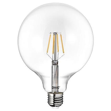 IKEA LUNNOM E27 - Bombilla de globo de filamento LED (tamaño grande, 600 lúmenes