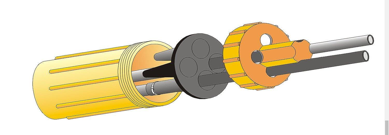 Friedl Dosenmuffe FDM2 Kabelverbinder Kabelmuffe IP68 wasserdicht