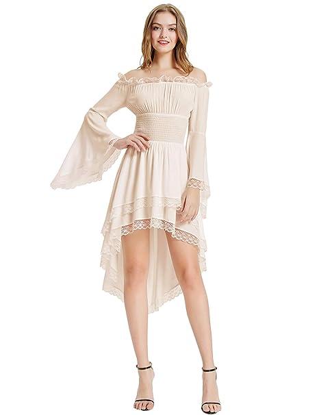 Amazon.com: KANCY KOLE - Vestido de renacimiento para mujer ...