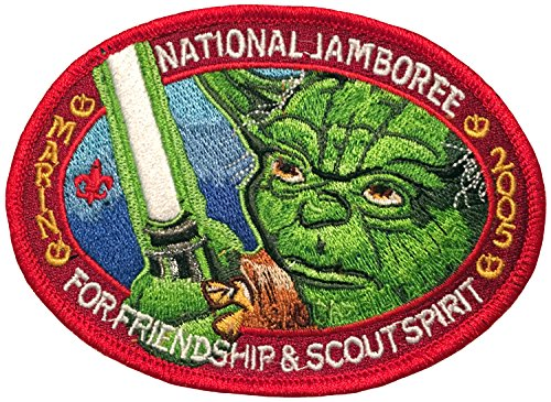 Boy Scout 2005 Jamboree Marin Council Star Wars Yoda Patch Council Boy Scout Patch