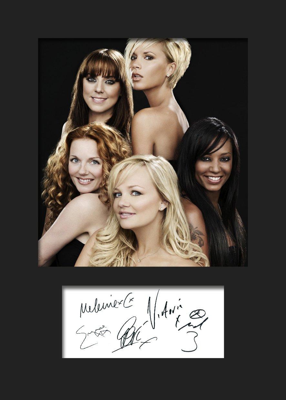 Spice Girls#3 Foto, gerahmt, mit Autogramm, A5