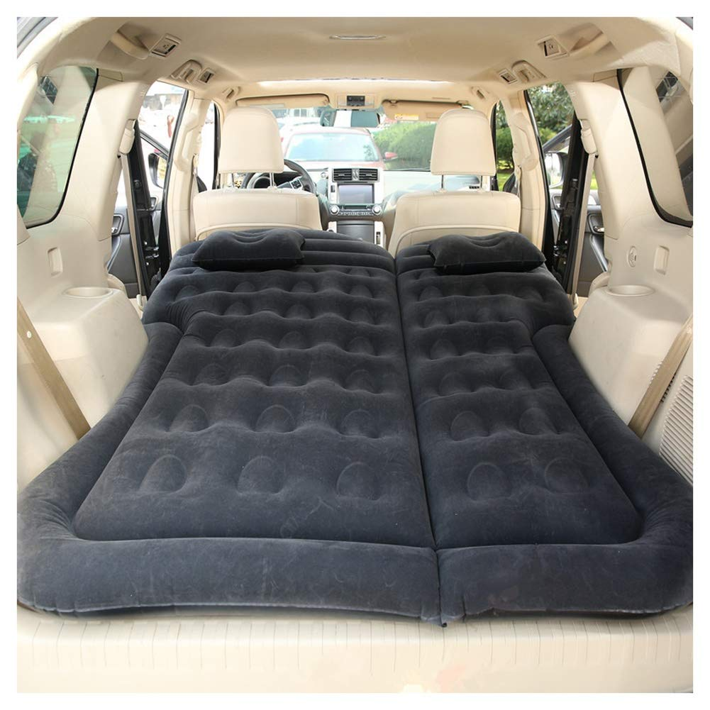 Car Inflatable Bed 180x130CM Outdoor Camping Travel Bed Car Air Mattress for SUV, Self-Driving Tour, Long-Distance Driving CIM0929 (Color : A) by ZCY-Auto Mattress