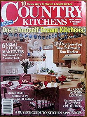 Country Kitchen Magazine Fall Winter 1990 Barbara Jacksier Kathleen