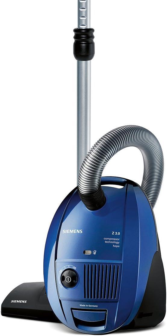 Siemens VSZ31455- Aspirador, 10A, 50Hz, 1400 W, HEPA, 4 L, 79 Db ...