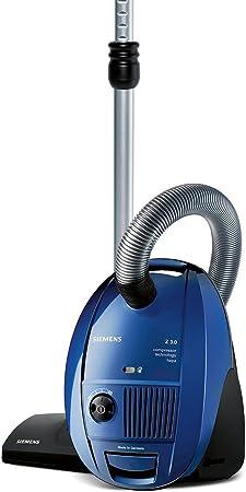 Siemens VSZ31455- Aspirador, 10A, 50Hz, 1400 W, HEPA, 4 L, 79 Db, Azul [importado de Alemania]: Amazon.es: Hogar