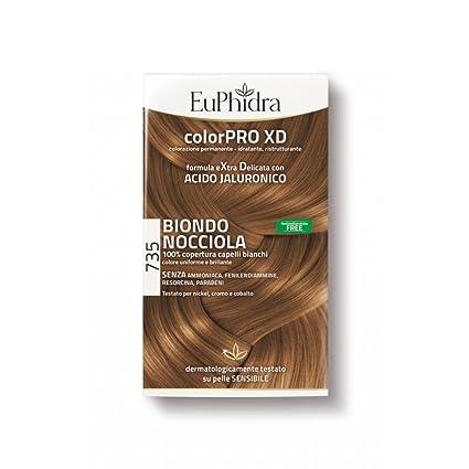 Euphidra Colorpro Xd Tintura Extra Delicata Colore 735 Biondo Nocciola