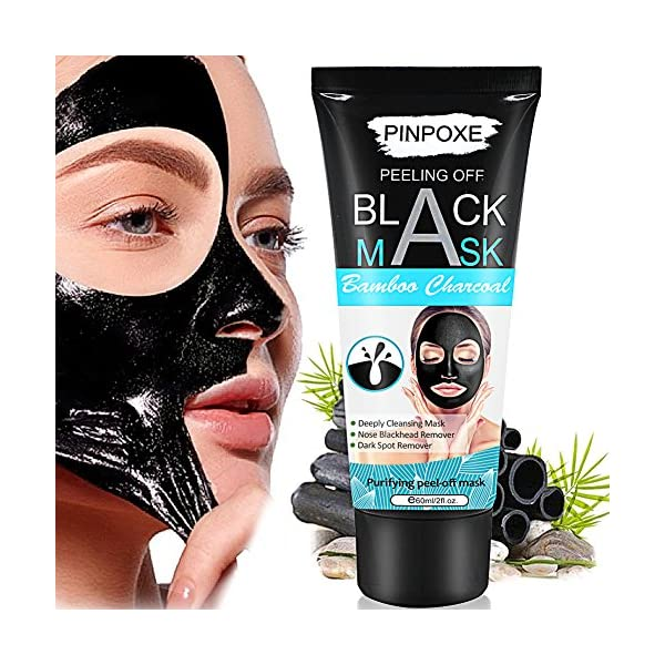 Blackhead Remover Mask, Peel Off Blackhead Mask, Black Mask – Deep Cleansing Facial Mask for Face & Nose