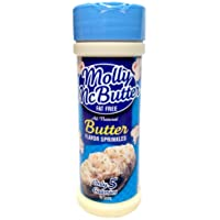 Molly McButter Fat Free BUTTER FLAVOR SPRINKLES 2oz (2 Pack)