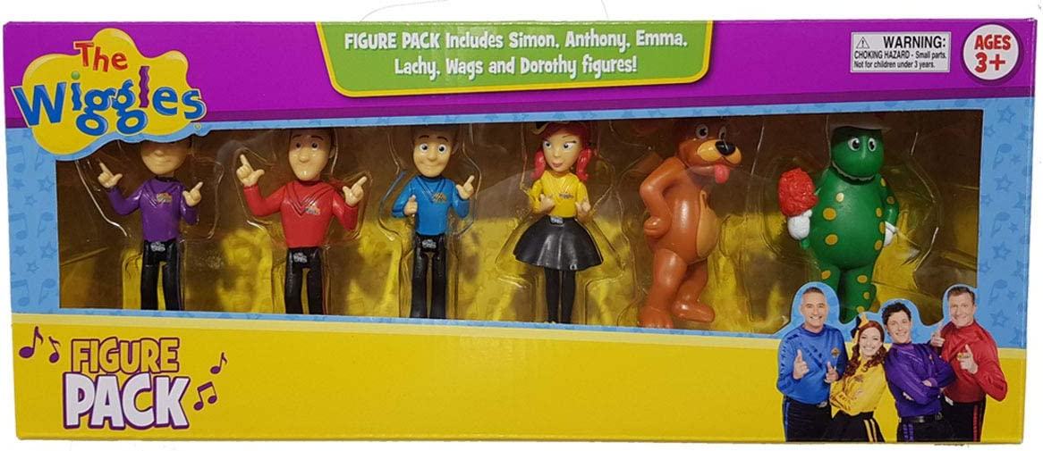 The Wiggles 6-Figure Pack