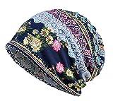 Jemis Skullies Beanies Thin Bonnet Cap Autumn Casual Beanies Hat (Blue)